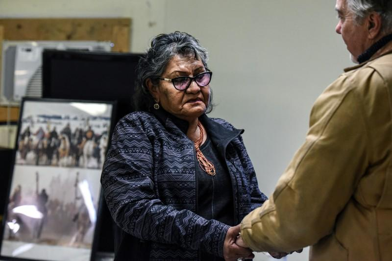 Great-great-grandson of Wounded Knee commander asks for forgiveness
