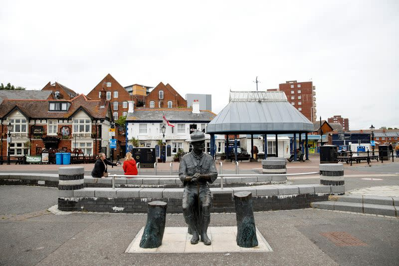 Protest against the death of George Floyd, in Poole