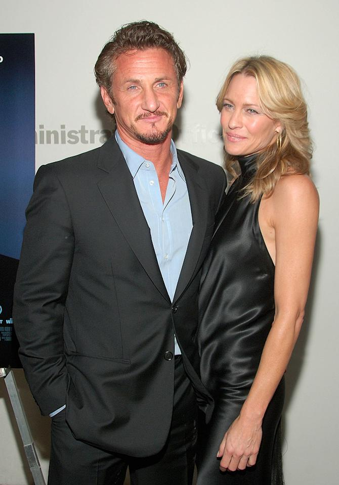 "<a href=""http://movies.yahoo.com/movie/contributor/1800019044"">Sean Penn</a> and <a href=""http://movies.yahoo.com/movie/contributor/1800019047"">Robin Wright Penn</a> at the New York premiere of <a href=""http://movies.yahoo.com/movie/1809739709/info"">What Just Happened</a> - 10/01/2008"