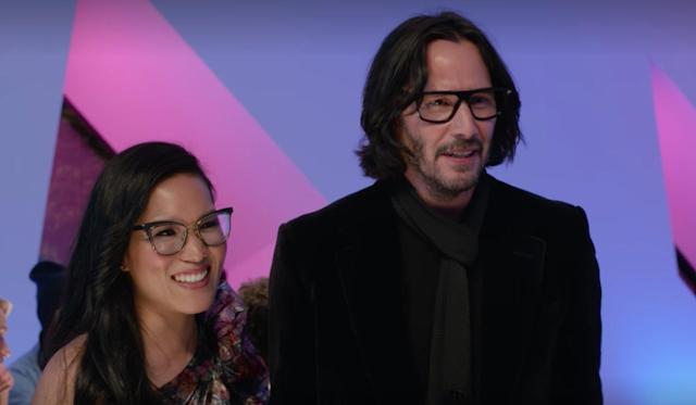 Keanu Reeves and Ali Wong in <em>Always Be My Maybe.</em> (Netflix)