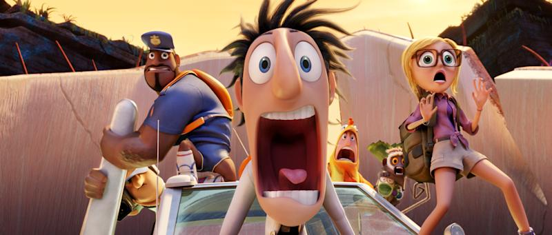 'Cloudy' sequel tops weekend box office