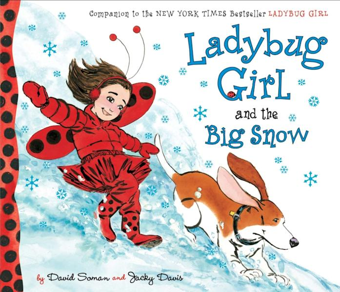 "This book cover image released by Dial shows ""Ladybug Girl and the Big Snow,"" by David Soman and Jacky Davis. (AP Photo/Dial)"