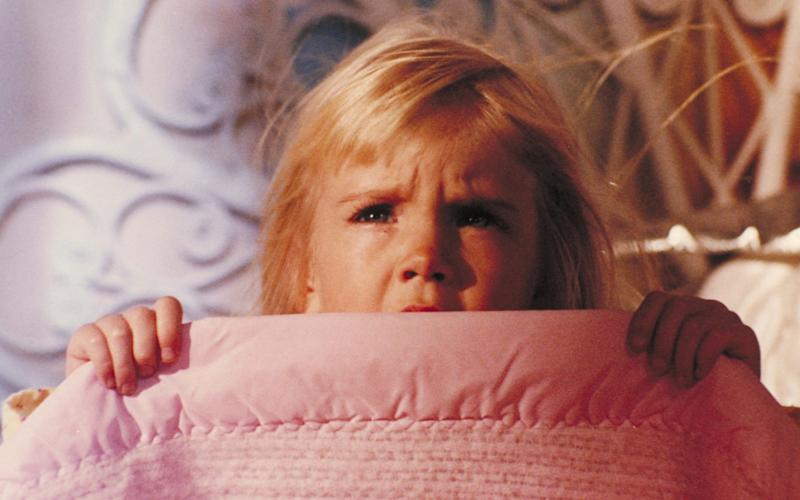 Heather O'Rourke in Poltergeist - Alamy