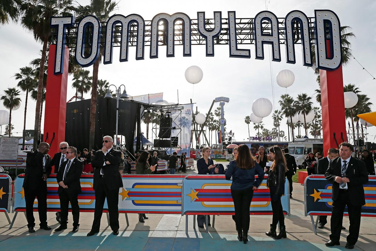 "<p>Tommy Hilfiger named his Venice Beach, Calif., venue ""TommyLand."" (Photo: Getty Images) </p>"