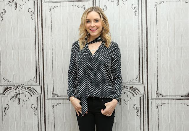 Actress and author Jenny Mollen attends the Build speaker series in New York City in 2016. (Photo: Getty Images)