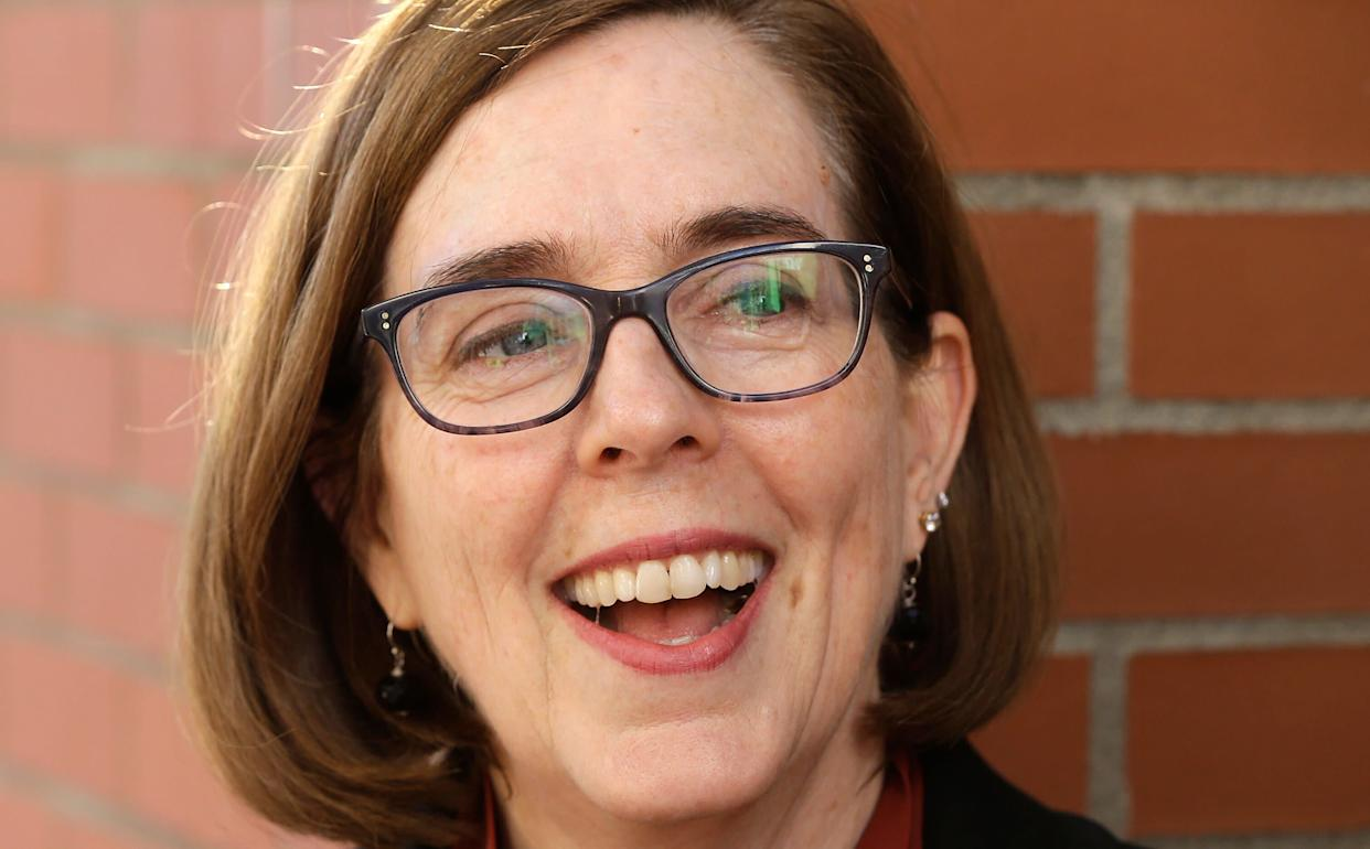 Oregon Gov. Kate Brown (D) enthusiastically supports the idea of requiring presidential candidates to release their tax returns if they want their names to appear on the state's 2020 primary ballot. Hi President Trump. (Photo: ASSOCIATED PRESS)
