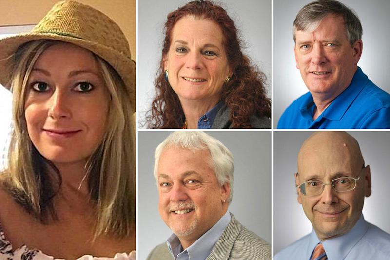 Mass shooting: The five victims of the attack at the Capital Gazette