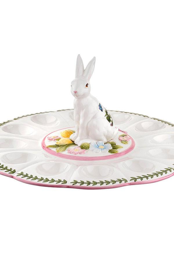 This Gorgeous Deviled Egg Plate is Heaven Sent for the Busy Hostess