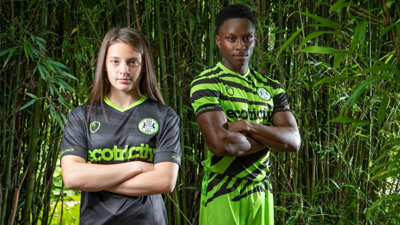 Forest Green Rovers unveil world's first bamboo kit