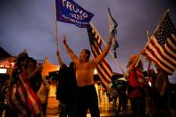 FILE PHOTO: Protest following the 2020 U.S. presidential election, in Miami