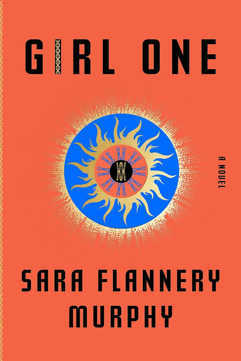 <p><span><strong>Girl One</strong></span> by Sara Flannery Murphy is a supernatural thriller about nine women who hold the distinction of being the first babies conceived without male DNA. At first, the girls and their mothers lived together on a commune, but when a fire destroyed their home they were all separated. Now, Josephine Morrow, the firstborn of the group, is on a mission to reunite her family after one of the girls goes missing. </p> <p><em>Out June 1</em></p>