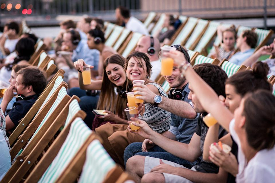 <p>Cheers: this weekend. the Rooftop Film Club has two drive-in cinemas open</p> (Rooftop Film Club)