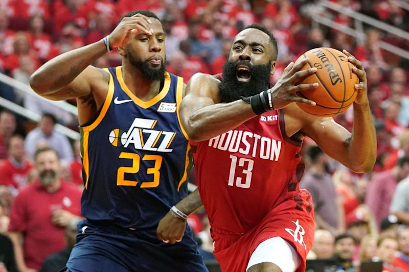 'Nobody's Better': James Harden Notches Triple-Double in Game 2 vs Jazz