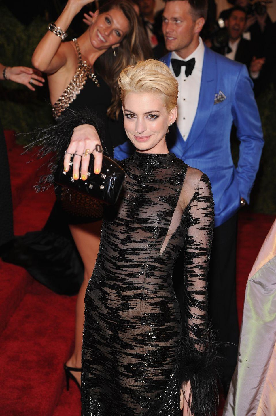 <p>Poor Anne Hathaway just can't catch a break.</p>
