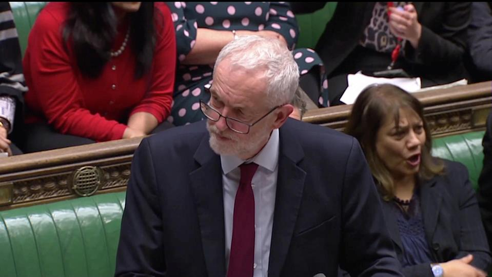 Jeremy Corbyn tabled an amendment this evening to try and change the Government's Brexit strategy (Reuters)