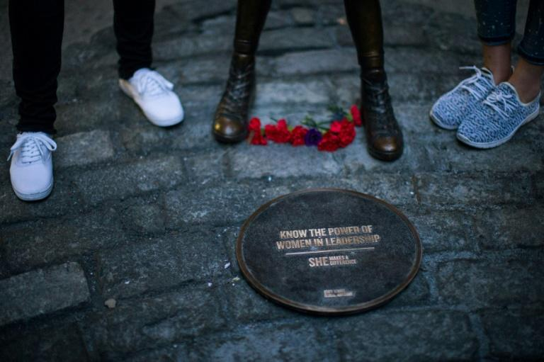 The bronze statue of 'The Fearless Girl' was only supposed to stay a week but the day after its installation, New York Mayor Bill de Blasio said it would remain until April 2