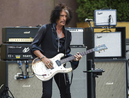 Aerosmith's Joe Perry hospitalized after collapsing at Billy Joel concert