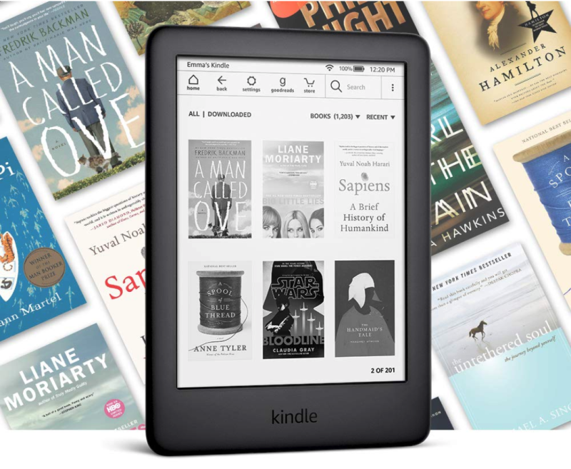 Hold thousands of books in your hand with the new Kindle. (Photo: Amazon)