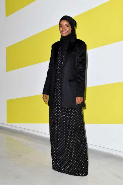 PHOTO: Halima Aden attends the Max Mara fashion show during the Milan Fashion Week Spring/Summer 2020, Sept. 19, 2019, in Milan, Italy. (Jacopo Raule/Getty Images)