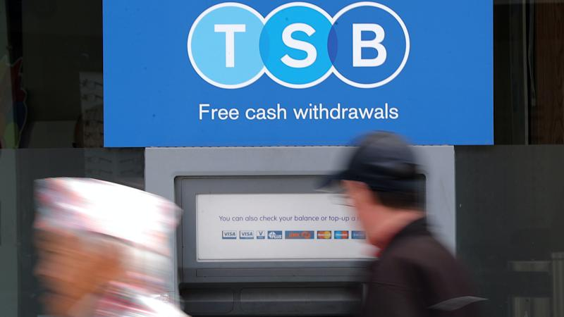 Around 900 jobs to go as TSB closes 164 bank branches