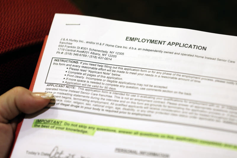Applications for US jobless aid fall to 393,000