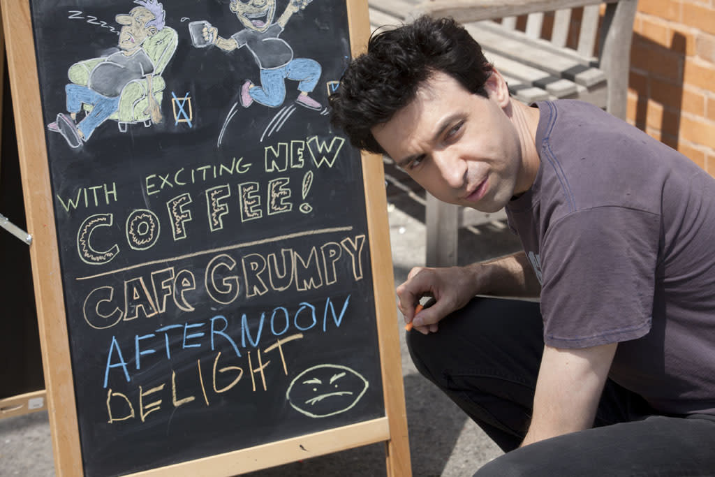 "Alex Karpovsky in the ""Girls"" Season 2 episode, ""One Man's Trash."""