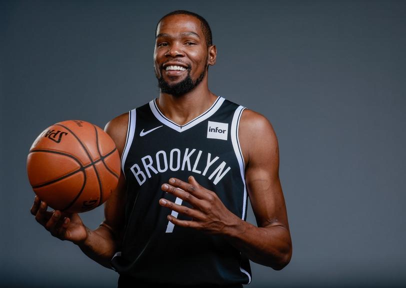 Kevin Durant Nets Media Day 2019