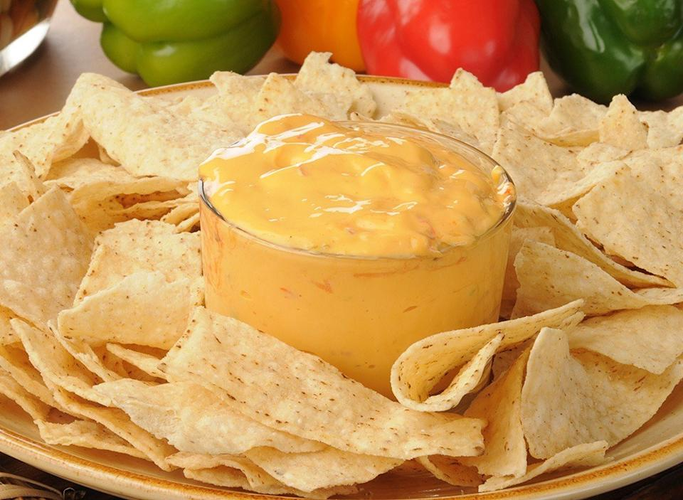 queso with chips