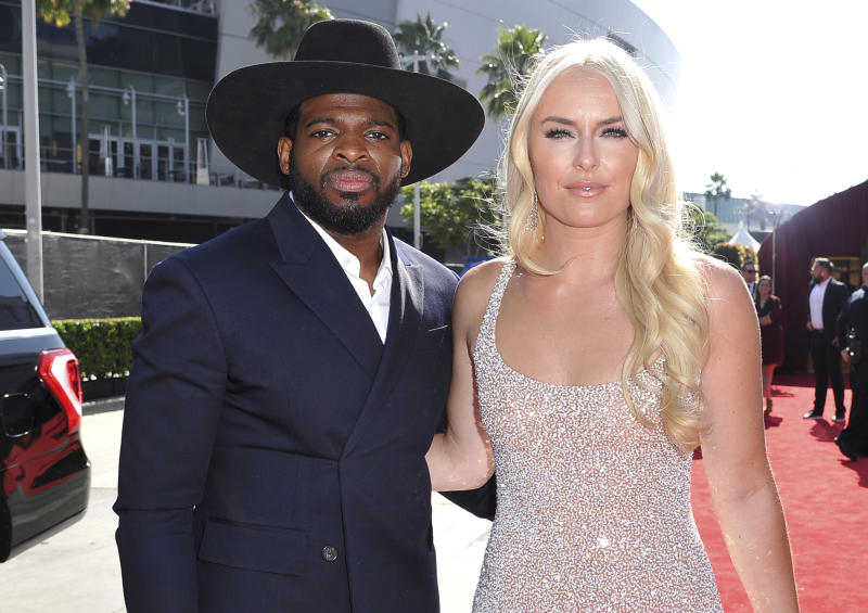 Lindsey Vonn proposes to Devils' P.K. Subban on Christmas