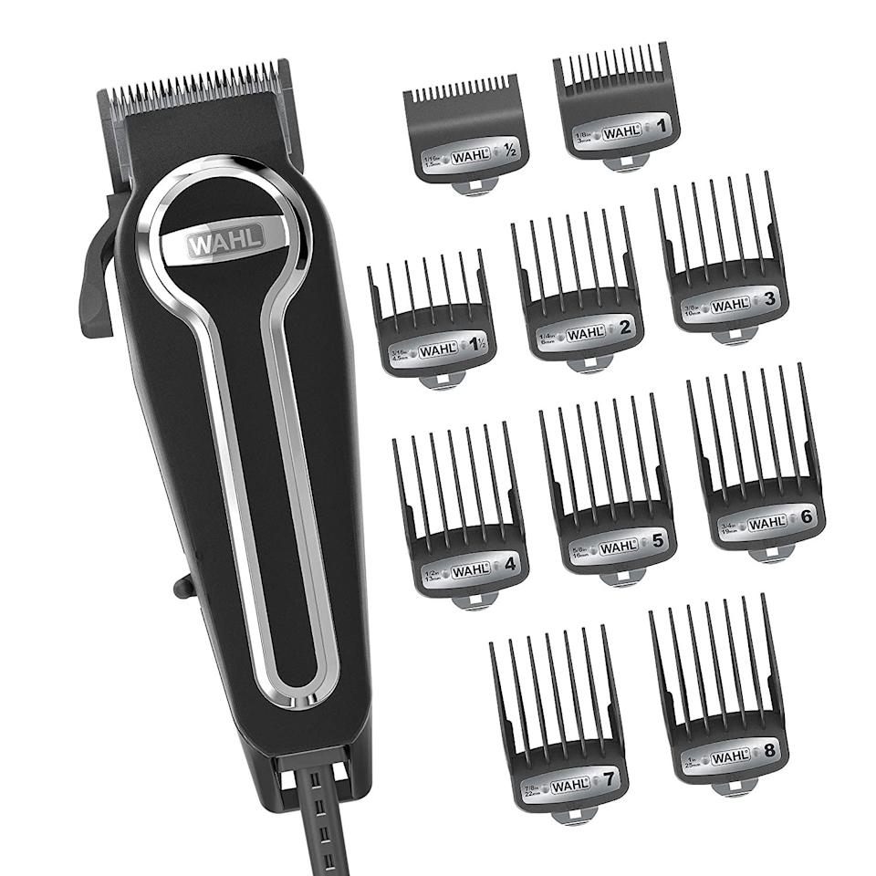 Wahl Clipper Elite Pro High-Performance Home Haircut & Grooming Kit, best cordless hair trimmers