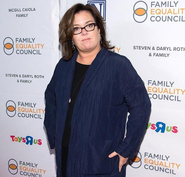 Rosie O'Donnell has found herself embroiled in a couple's divorce, if only in the papers. (Photo: Mike Pont/WireImage)
