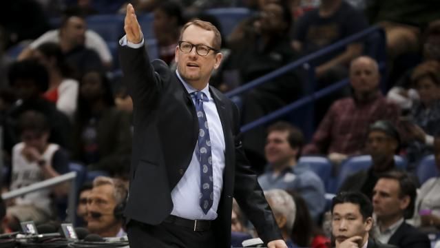 Nick Nurse wants more out of his wing depth pieces. (Derick E. Hingle-USA TODAY Sports)