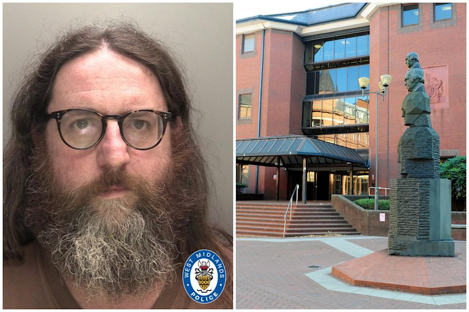 Matthew Tucker was sentenced to 18 years in prison at Birmingham Crown Court. (West Midlands Police/PA)