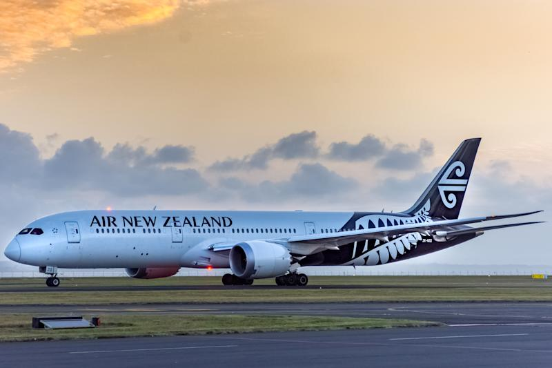 Air New Zealand, Boeing, 787, Dreamliner, Taxiing at Auckland International Airport, New Zealand, 1 December 2019