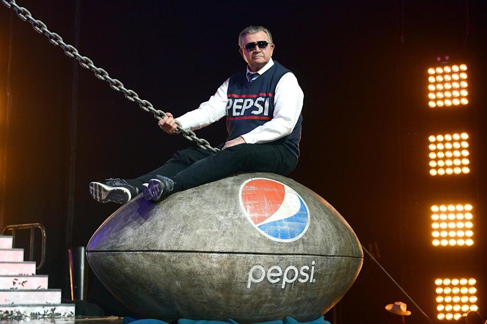 Mike Ditka in a Pepsi NFL ad. (Mark Davis/Getty Images for Pepsi)