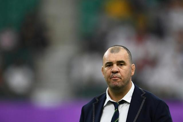 Michael Cheika has resigned as Australia coach after their World Cup exit (AFP Photo/CHARLY TRIBALLEAU)