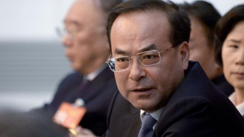 Former high-ranking China politician gets life sentence for taking bribes