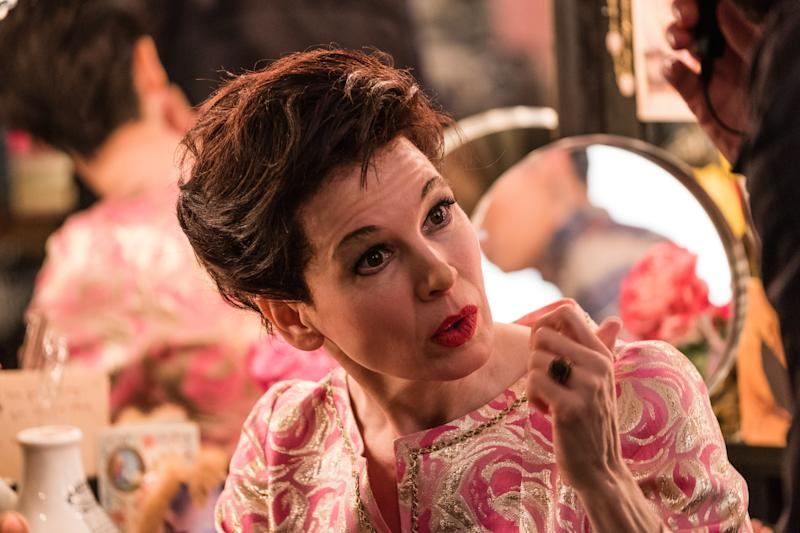 Renee Zellweger as cinema legend Judy Garland in new biopic 'Judy'. (Credit: Pathe)