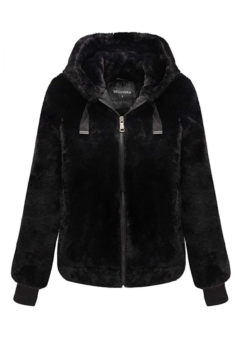 """We're having a hard time finding a reason to take this ultra-cozy faux fur zip-up off, but holler if you come up with one. $43, Amazon. <a href=""""https://www.amazon.com/Bellivera-Womens-Side-Seam-Pockets-Jacket/dp/B07SQ8HCXF/"""" rel=""""nofollow noopener"""" target=""""_blank"""" data-ylk=""""slk:Get it now!"""" class=""""link rapid-noclick-resp"""">Get it now!</a>"""