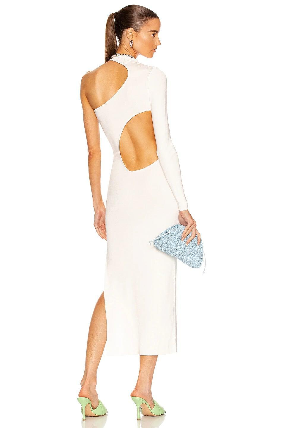 <p>If you're going somewhere fancy, this <span>Aya Muse Anais Dress</span> ($640) will make the best kind of statement. It's fun, modern, and so pretty.</p>