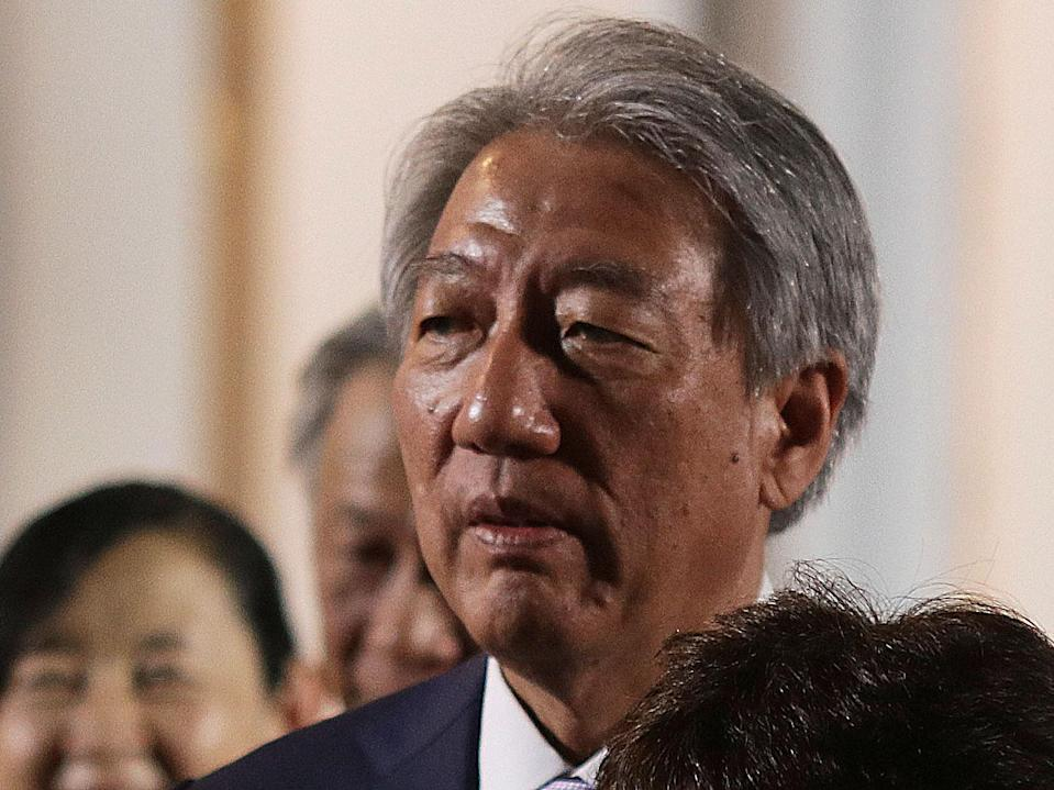 Teo Chee Hean (Yahoo News Singapore file photo)