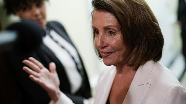 "WASHINGTON ― Every day since Jan. 11, Republicans have reminded us that House Democratic leader Nancy Pelosi (D-Calif.) said that day that workers have gotten nothing but ""crumbs"" from the GOP tax bill."
