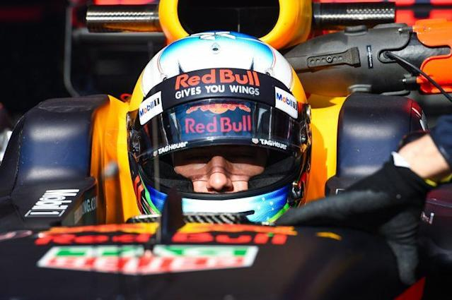 Charging Bull: Red Bull are quietly confident that their 2017 car will get Daniel Ricciardo closer to the Mercedes