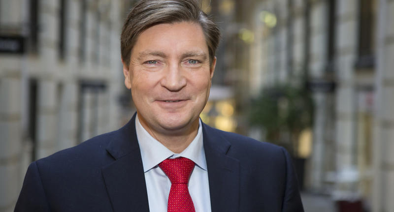 A file photo from Nov. 17, 2014. of Norway Member of Parliament Christian Tybring-Gjedde.