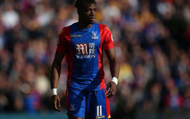 <span>Zaha has racked up nine Premier League assists this season</span> <span>Credit: Rex Features </span>