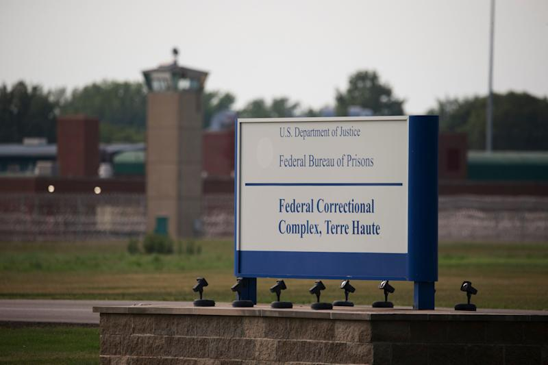 The federal government is scheduled to carry out its seventh execution since July at the Terre Haute prison on Thursday. (SOPA Images via Getty Images)