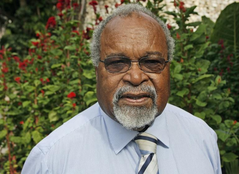 Somare only stepped back from politics in 2017, after 49 years as a member of parliament