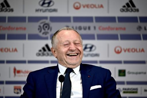 Jean-Michel Aulas, the Lyon president, said the French season should be wiped out