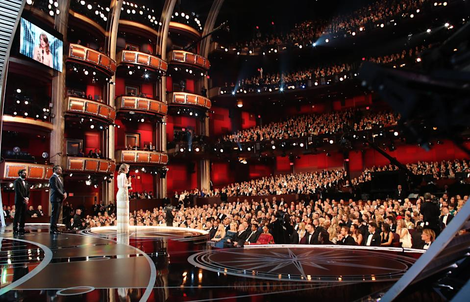 The Dolby Theatre is usually packed to the raftersGetty Images