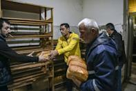 Bakery staff are working full tilt to keep Stepanakert supplied with bread